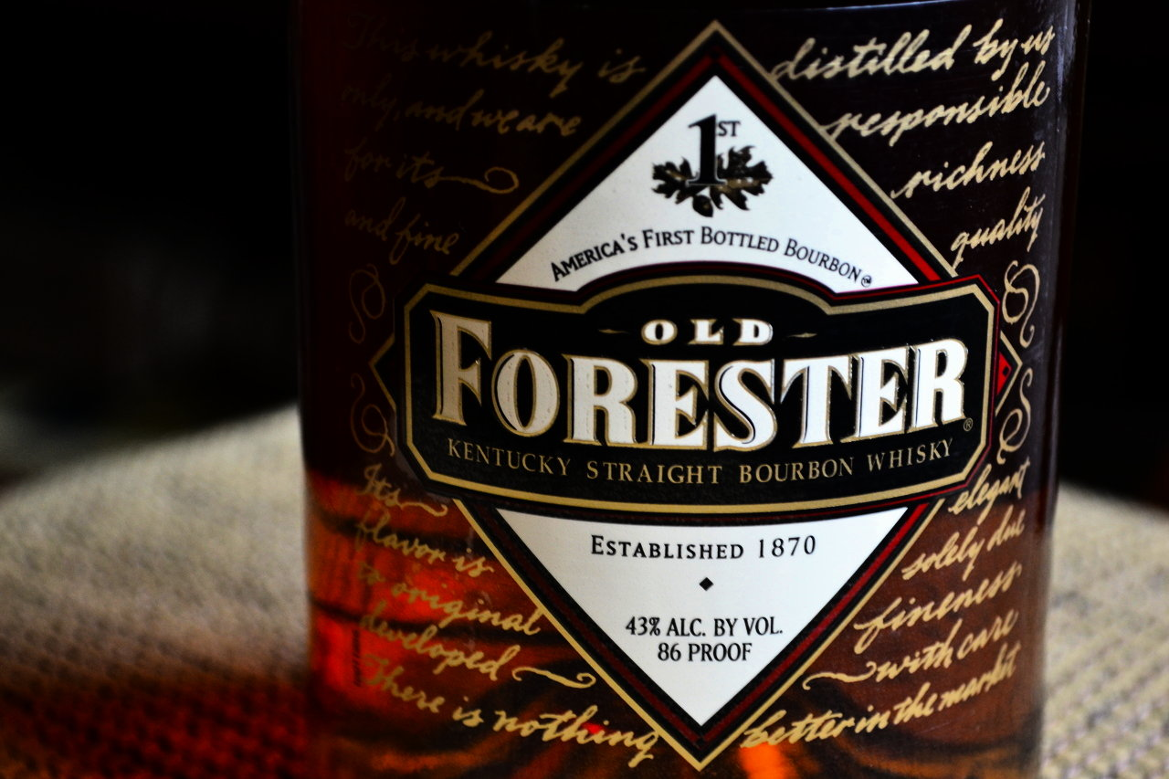 Sharing A Glass Of Old Forester With Its Founder's Great, Great Grandson